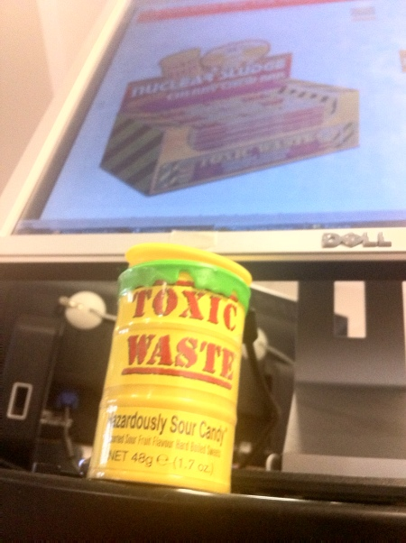 Toxic Waste sweets